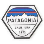 パタゴニア ステッカー フィッツロイ ヘックス PATAGONIA FITZROY HEX STICKER 山 CLIF USA 1973 シール デカール メール便 同梱可