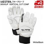 ヘストラ HESTRA スキーグローブ 30043JP 000100 VERTICAL CUT COMP WHT/BLK [30043JP-000100]