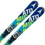 SALE! アトミック ATOMIC BLUESTER BEND-X 125cm + E LITHIUM 10 セット [AASS01024]