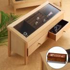 ショッピングアクセサリー アクセサリーボックス ワイドジュエルM ナチュラル T5513(290115)送料無料(KH)木製 ジュエリーボックス(ms)