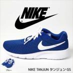 ナイキ NIKE TANJUN タンジュン 子供用 GS スニーカー(男の子 女の子 ランニングシューズ フィットネス ウォーキング 靴 スポーツ ブルー