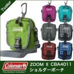 Coleman(コールマン)ZOOM II ミニポーチ ショルダー ウエストバッグ ポーチ(斜めがけ/ウェスト/カラナビ/デジカメ/アウトドア/小物メンズ/レディース)