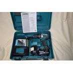 マキタ 充電式震動ドライバドリル HP484DRGX 18V6.0ah(電池2個・充電器・ケース付)