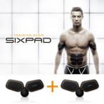 雅虎商城 - SIXPAD シックスパッド ツインボディセット メーカー公式 シックス パッド シックスパット EMS トレーニング MTG ロナウド 腕 ウエスト 脚