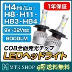 LEDヘッドライト / フォグランプ兼用 (S2) 5000LM 8000LM [型番選択] 6500K COB全面発光チップを採用 コンパクトサイズ 一体型設計 [9V〜32V対応][送料無料]
