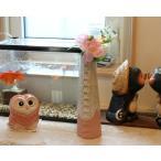信楽焼 陶器製 桃チタン合わせ一輪挿し (MI8019-08G)[花器][花瓶][インテリア][信楽焼き]