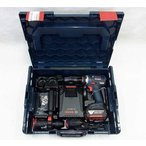 BOSCH バッテリー マルチドライバードリル GSR18V-ECFC2 世界初 SDSプラスハンマードリルアダプター標準付属 5.0Ahバッテリー1個仕様