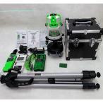 追尾仕様 グリーンレーザー墨出し器 センサーナビ TGL-9Dドット SB-G