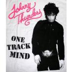 ジョニー・サンダース Johnny Thunders Tシャツ One Track Mind 正規品 ロックTシャツ バンドTシャツ