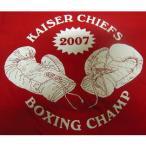 カイザー・チーフス Kaiser Chiefs Tシャツ 赤 Boxing 正規品 ロックTシャツ バンドTシャツ