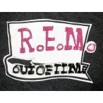 R.E.M Tシャツ Out of Time 正規品 アウト・オブ・タイム ロックTシャツ バンドTシャツ