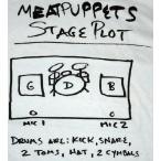ミート・パペッツ Meat Puppets Tシャツ 正規品 ロックTシャツ バンドTシャツ