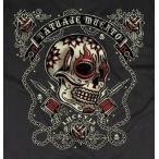ラッキー13 LUCKY13 Tシャツ DEAD TATTOO 黒