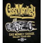 ガス モンキー ガレージ Gas Monkey Garage Tシャツ DRAG 正規品 アメ車関連