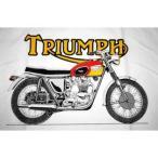 トライアンフ TRIUMPH T120 Tシャツ 白 正規品