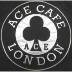 エース・カフェ・ロンドン Ace Cafe London + LUCKY13 ラッキー13 ワークジャケット 黒