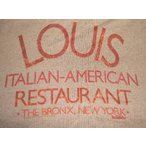 ゴッドファーザー Tシャツ GODFATHER LOUIS 正規品 イタリアン レストラン