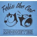 ムーン・アイズ Moon Eyes × Felix The Cat フィリックス Tシャツ  Face 青 正規品