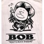 スヌーピー Snoopy パロディ Tシャツ Bob Marley ボブ・マーリー 白