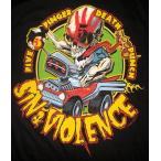 ファイヴ フィンガー デス パンチ FiveFingerDeathPunch Tシャツ Sin & Violence 正規品 ロックTシャツ関連 5FDP