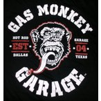 ガス・モンキー・ガレージ Gas Monkey Garage Tシャツ GREASE 正規品 アメ車関連