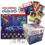 """【予約ECM18】PANINI """"Copa America 2015 Chile"""" 南米選手権 チリ大会【サッカー/ブラジル代表/アルゼンチン代表/トレカ】画像"""
