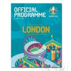 「【EUP21】【国内未発売】ユーロ2020 オフィシャル トーナメントプログラム LONDON ver【ユーロ2021/欧州選手権/公式/サッカー】 ネコポス対応可能」の画像
