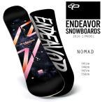 【WAXなし】スノーボード 板 ENDEAVOR エンデバー NOMAD ノマド 16-17モデル レディース E1 J8 【返品不可】