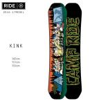 【数量限定】スノーボード 板 RIDE ライド KINK キンク 16-17モデル メンズ DD J2
