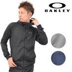 送料無料 メンズ ジップアップ パーカー OAKLEY オークリー Enhance Tenhnical Fleece Jacket-Grid 7 461542JP EE1 A19