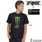 メンズ 半袖Tシャツ FOX フォックス × MONSTER モンスター ZEBRA SS TEE MSE078 DD3 I18