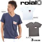 メンズ半袖Tシャツ roial ロイアル TS545 DD2 E10