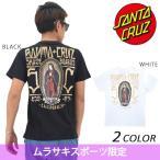 メンズ半袖Tシャツ SANTA CRUZ サンタクルーズ GUADALUPE INKED GOLD 50262410 ムラサキ限定モデル DD2 F22