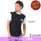 SALE セール 20%  メンズ 半袖 Tシャツ SANTA CRUZ サンタクルーズ BURN OUT Tow-Tone 50271405 限定商品 EE1 C16