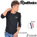 メンズ 七分袖 Tシャツ Real.B.Voice リアルビーボイス 17AWM503 EE3 H15