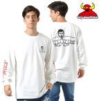 SALE セール メンズ 長袖 Tシャツ TOY MACHINE トイマシーン × PUNK DRUNKERS PTM19LT1 GG3 J30