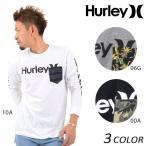 送料無料 メンズ 長袖 Tシャツ Hurley ハーレー MTLSOAPS7 EE1 A10