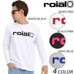 SALE セール 30%OFF 【数量限定】 メンズ 長袖 Tシャツ roial ロイアル TS556 EE1 L20