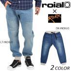 メンズ ロング パンツ (デニム) roial ロイアル × ROKX ロックス CO12D DD3 I13