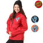 ショッピングサンタ レディース ジャケット SANTA CRUZ サンタクルーズ アノラック SCREAMING HAND 50273105 ムラサキスポーツ限定 EE3 J16