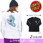 レディース 長袖 Tシャツ SANTA CRUZ サンタクルーズ PARTY HAND 50263404 限定商品 DD3 L1