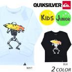 SALE セール 20%OFF キッズ 長袖 Tシャツ QUIKSILVER クイックシルバー KLT164102 (100cm〜150cm) DX3 J19
