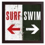 送料無料 北海道・沖縄・離島を除く サインフレーム Surf Swim ZSF-52032