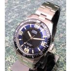 腕時計 メンズ メンズウォッチ オリス ORIS ダイバーズ65 フルメタル 新作 ブルー文字盤 濃紺 733.7707.4035M 正規品 送料無料