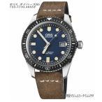 腕時計 メンズ メンズウォッチ オリス ORIS ダイバーズ65 新作 ブルー文字盤 カーフベルト 733.7720.4055F 正規品 送料無料