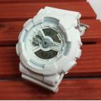 腕時計 カシオ G-SHOCK Gショック ジーショック ホワイト 白 アナデジ GA-110BC-7AJF プレゼント 誕生日 記念日 国内正規品 送料無料