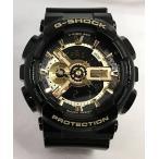腕時計 カシオ G-SHOCK Gショック ジーショック ブラック 黒 アナデジ GA-110GB-1AJF プレゼント 誕生日 記念日 国内正規品 送料無料