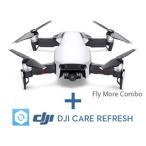 DJI  CP.PT.00000160.01 Mavic Air Fly More コンボ(アークティックホワイト)+DJI Care Refreshセット