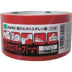 okamoto/オカモト  NO420 PEクロステープ包装用 赤 50ミリ 420R