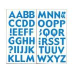 ARTE/アルテ  フォームアルファベットステッカー CFS-05 ブルー シートサイズ(H293×W156mm) 1セット入